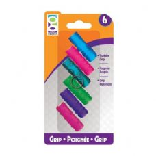 48 Units of 4 Ct. Textreme Squishy Gripz - Pencil Grippers / Toppers