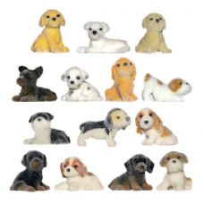300 Units of Fuzzy Friends Puppies Figurine - Novelty Toys