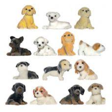 300 Units of Fuzzy Friends Puppies Figurine