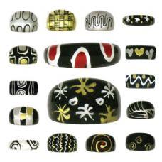 300 Units of Acrylic Fashion Rings