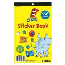 12 Units of Dr Seuss Sticker Book Pack - Stickers