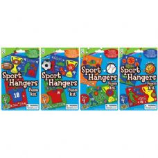 60 Units of Sports Hangers Foam Kit - Craft Kits
