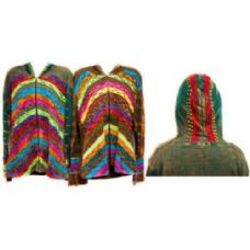 12 Units of Nepal Handmade Cotton Jackets with Hood - Womens Sweaters & Cardigan
