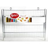 12 Units of Metal Spice Rack by DINY Home