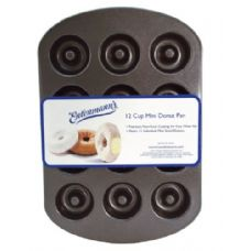 12 Units of 12 Count Mini Donut - Frying Pans and Baking Pans