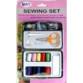 48 Units of Sewing Set in Plastic Case