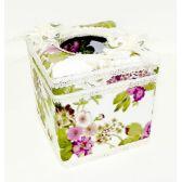 12 Units of Elegant Tissue Box Case Cube Size - Tissues