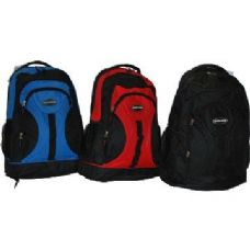 "24 Units of 18"" heavy-duty poly backpack"