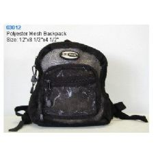 "36 Units of Polyester Mesh Backpack - Backpacks 15"" or Less"
