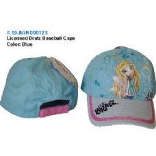 24 Units of Licensed Bratz Baseball Caps - Baseball Caps & Snap Backs