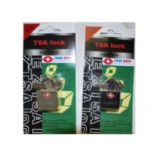 "48 Units of  ""E-Z"" TSA padlock Black"