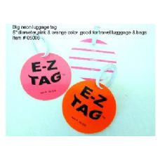 "144 Units of 5"" Neon Tag - Travel/ Luggage Items"