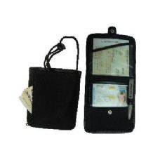 24 Units of  ID & Boarding Pass Holder W/ Snap Closure - ID Holders