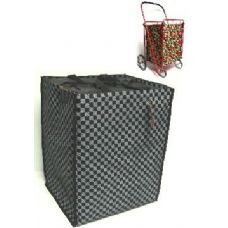 24 Units of Shopping Cart Liner-Checker Pattern - Shopping Cart Liner