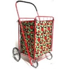 24 Units of Shopping Cart Liner-Ladybug Pattern - Shopping Cart Liner
