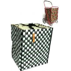24 Units of  Shopping Cart Liner-Skull Pattern - Shopping Cart Liner