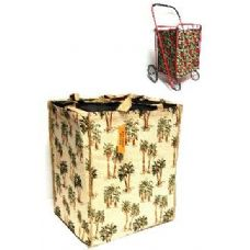 24 Units of Tapestry shopping cart Liner-Palm Tree Pattern - Shopping Cart Liner