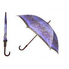 60 Units of 40 Inches 8 Ribbed Diameter Cane Printed Umbrella - Umbrellas & Rain Gear
