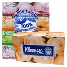 64 Units of Kleenex Facial Tissue 90CT - Tissues