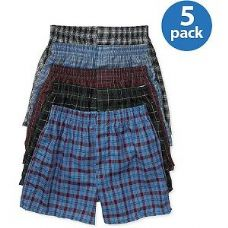 46 Units of FRUIT OF THE LOOM BOY'S 5 PACK BOXER SHORTS - Boys Underwear