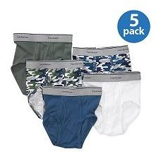 40 Units of FRUIT OF THE LOOM BOY'S 5 PACK FASHION BRIEFS - Boys Underwear