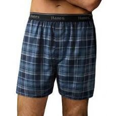 24 Units of HANES MEN'S 3PK. COLOR BOXER SHORTS - Mens Underwear
