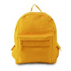12 Units of Backpack On A Budget - Bright Yellow