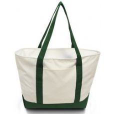 24 Units of Bay View Giant Zipper Boat Tote WFOR - Tote Bags & Slings