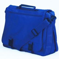 12 Units of GOH Getter Expandable Briefcase - Royal - Lunch Bags & Accessories
