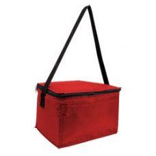 100 Units of Joe Cooler - Red - Tote Bags & Slings