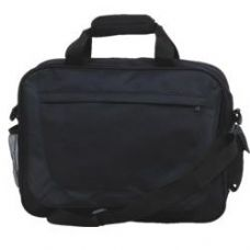24 Units of Panel Briefcase - Black - Tote Bags & Slings