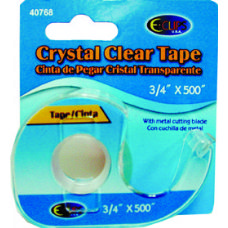 "144 Units of Stationery Tape - w/Dispenser - .75"" x 500"" - Tape"