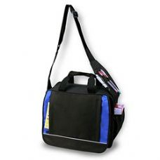 24 Units of Shoulder Briefcase - Royal - Lunch Bags & Accessories