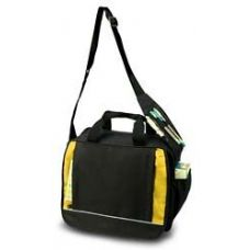 24 Units of Shoulder Briefcase - Yellow - Lunch Bags & Accessories