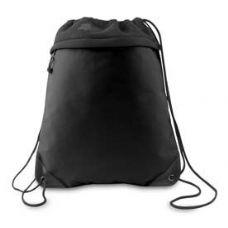 "24 Units of Coast to Coast Drawstring Pack - Black - Backpacks 15"" or Less"