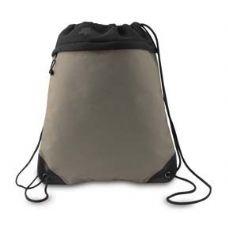 "24 Units of Coast to Coast Drawstring Pack - Light Tan - Backpacks 15"" or Less"