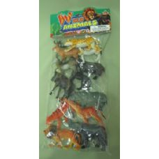 24 Units of WILD ANIMALS ASSORMENT - Animals & Reptiles