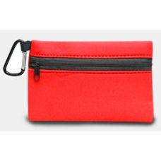 350 Units of Neoprene Zipper Wallet - Red - Leather Purses and Handbags
