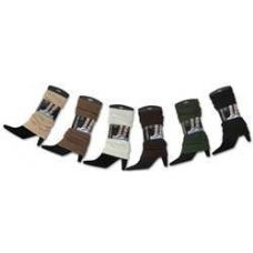 60 Units of Women's Solid Legwarmers - Arm & Leg Warmers