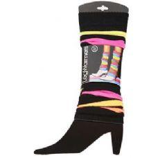 60 Units of Women's Neon Legwarmers - Arm & Leg Warmers