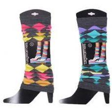 60 Units of Women's Diamond Pattern Legwarmers - Arm & Leg Warmers