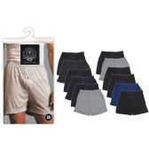 24 Units of Men's 3 Pack Boxers