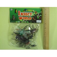 120 Units of ASSORTED INSECT FOR PLAY - Animals & Reptiles