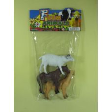 48 Units of ASSORTED FARM ANIMALS - Animals & Reptiles
