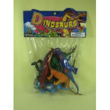 24 Units of ASSORTED DINOSAURS - Animals & Reptiles