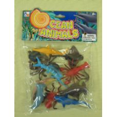 144 Units of ASSORTED OCEAN ANIMALS FOR KIDS - Animals & Reptiles