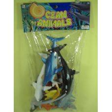 24 Units of ASSORTED OCEAN ANIMALS FOR KIDS - Animals & Reptiles