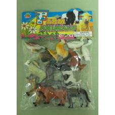 48 Units of PLAY ASSORTED FARM ANIMALS - Animals & Reptiles