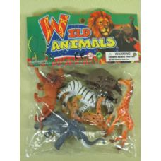 48 Units of PLAY ASSORTED WILD ANIMALS - Animals & Reptiles