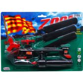 "72 Units of 8.5"" PULL A LINE ZOOM CHOPPER ON BLISTER CARD, 3 ASSRT CLRS - Toy Sets"